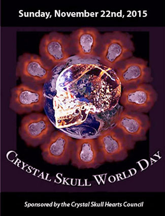 Logo for Crystal Skull World Day 2015 on November 22nd