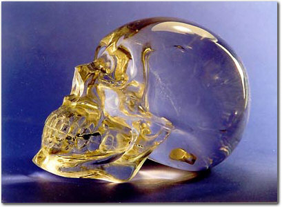 Crystal Skull carved in Germany by a master Carver